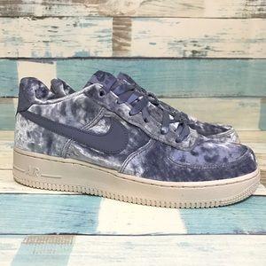 Nike Air Force 1 LV8 GS Velvet Blue Women Size 8.5